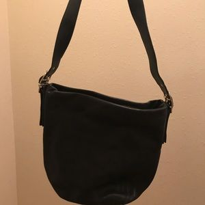 Coach Black Leather Bag- Excellent!